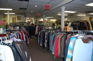 Thrift Shop floor