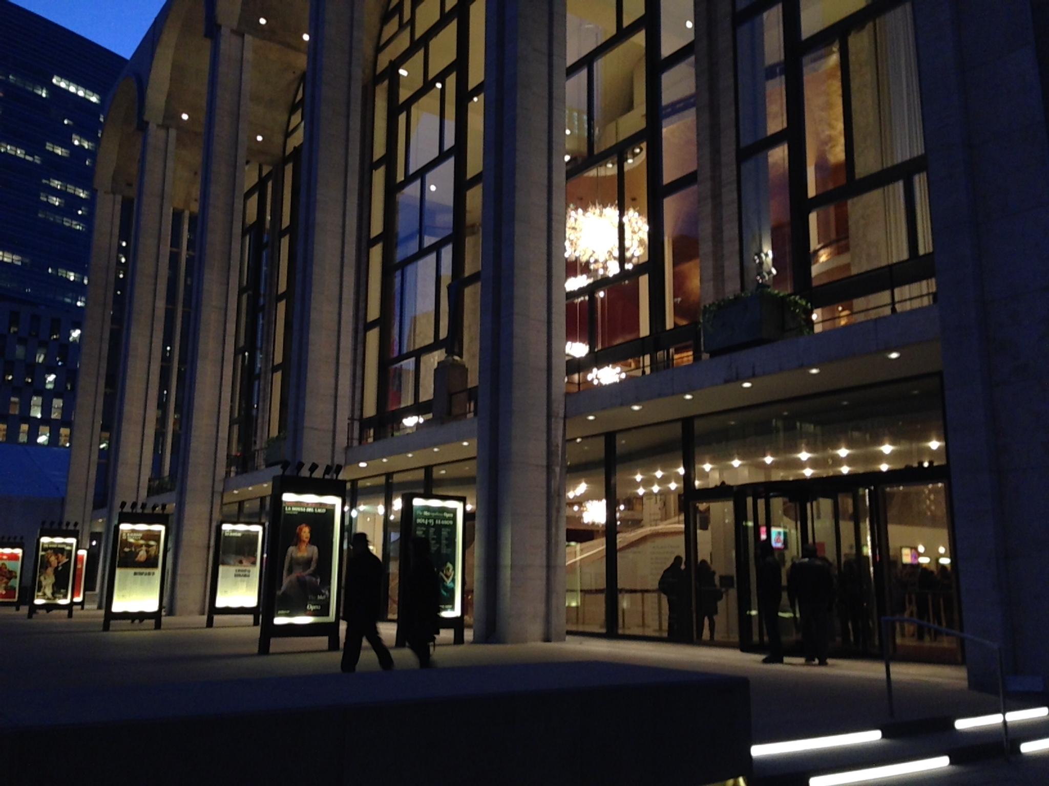 Metropolitan Opera House Backstage Tour