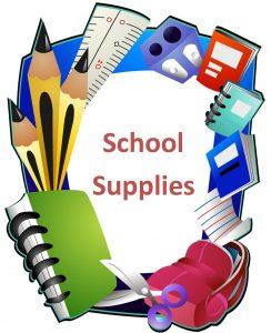 School supplies logo