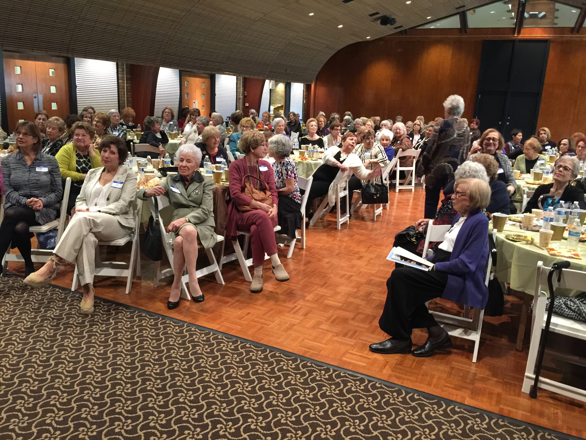 ncjw bcs members gathered together for annual luncheon